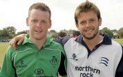 Dom Joyce and Ed Joyce