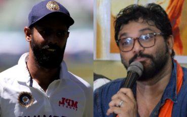Hanuma Vihari and Babul Supriyo