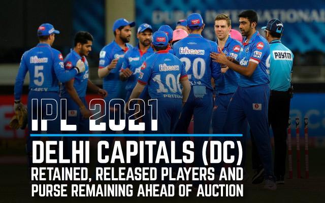 IPL-2021-Auction-and-Retention-DC