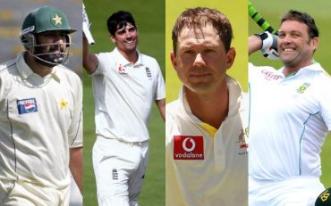 Inzamam Ul Haq, Alastair Cook, Ricky Ponting and Jacques Kallis