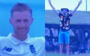 Joe Root and England Fan