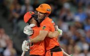 Josh Inglis and Mitchell Marsh