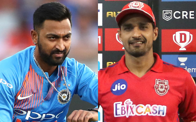 Krunal Pandya and Deepak Hooda