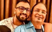 Krunal Pandya with his father