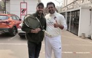 Manoj Tiwary and Leander Paes