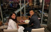 Mayank Agarwal and his wife