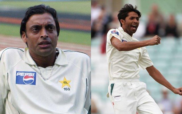 Mohammad Asif and Shoaib Akhtar