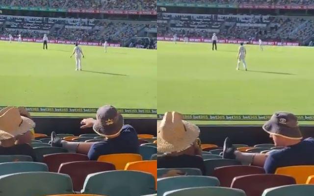 Mohammed Siraj and Australian fans