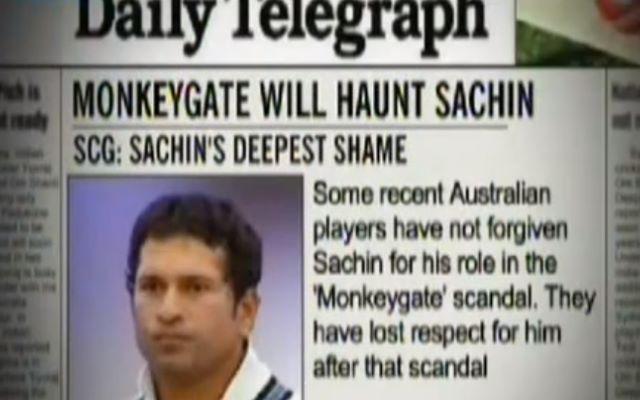 Monkeygate Scandal