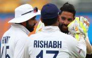 Rohit Sharma, Rishabh Pant and Mohammed Siraj