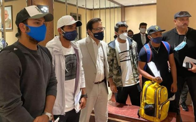 Team India's welcome