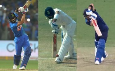 Virat Kohli's straight drives