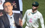 Virender Sehwag and Tim Paine
