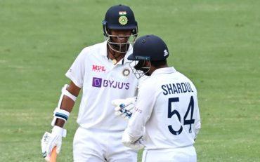 Washington Sundar and Shardul Thakur