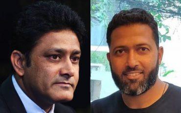 Anil Kumble and Wasim Jaffer