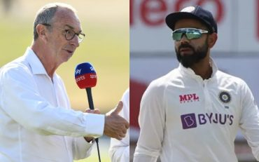 David Lloyd and Virat Kohli