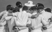 England Team Huddle