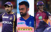 Gautam Gambhir, Jaydev Unadkat and Ben Stokes IPL