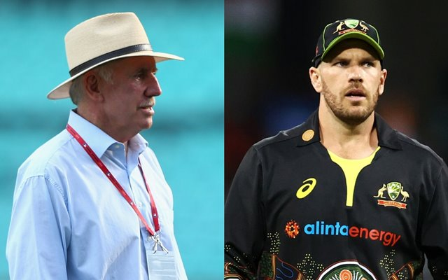 Ian Chappell and Aaron Finch