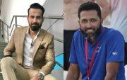 Irfan Pathan and Wasim Jaffer