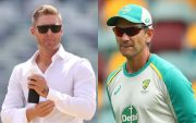 Michael Clarke and Justin Langer