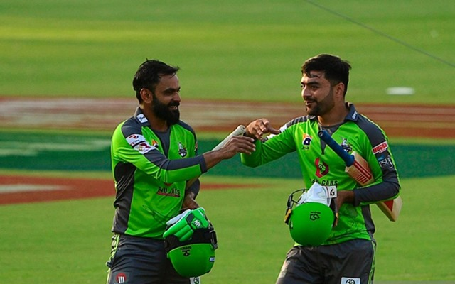 Mohammad Hafeez and Rashid Khan