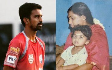 Murugan Ashwin and his mother