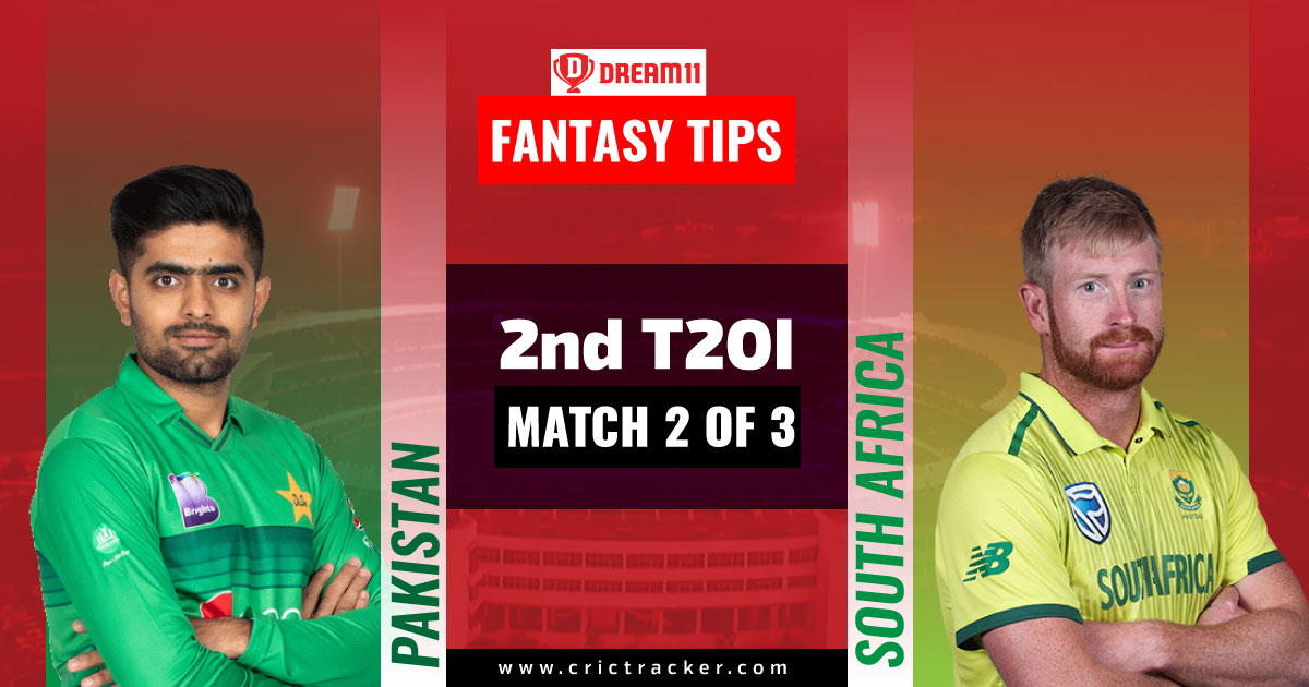PAK vs SA Dream11 Prediction, Fantasy Cricket Tips, Playing 11, Pitch Report and Injury Update – South Africa tour of Pakistan, 2nd T20I - CricTracker