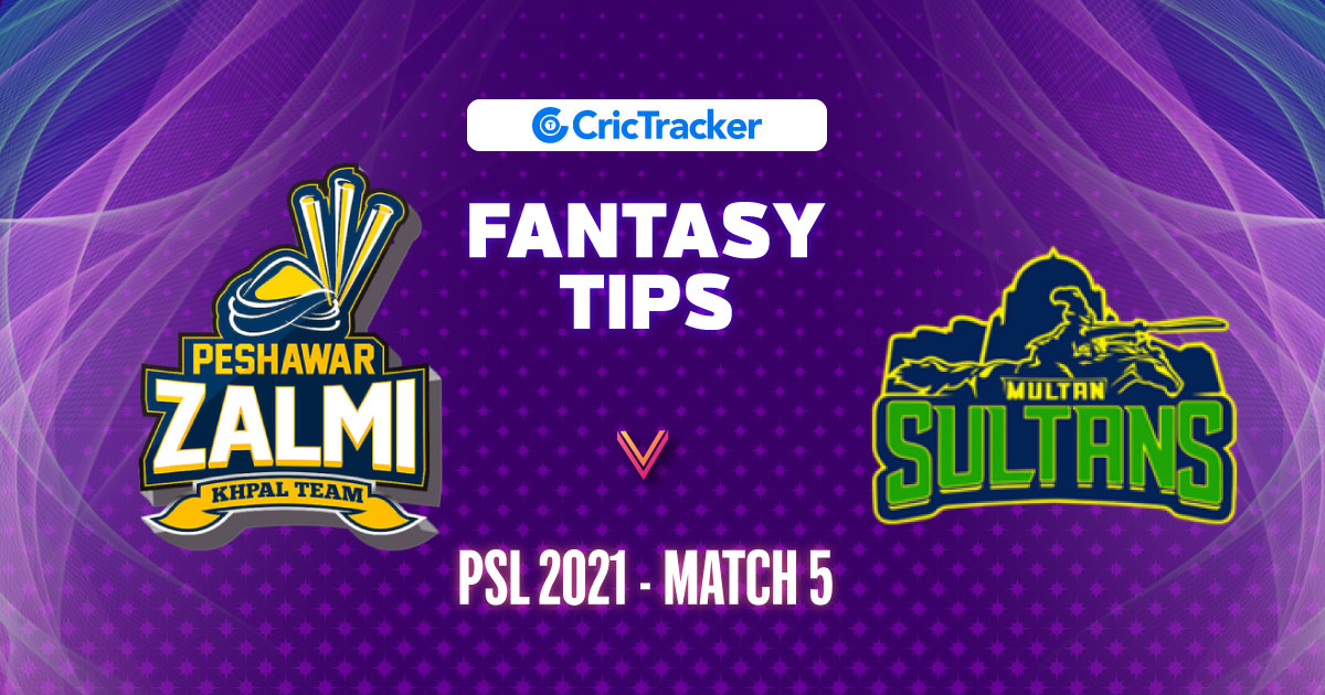 PZA vs MUS Prediction, 11Wickets Fantasy Cricket Tips: Playing XI, Pitch Report & Injury Update – PSL 2021, Match 5 - CricTracker