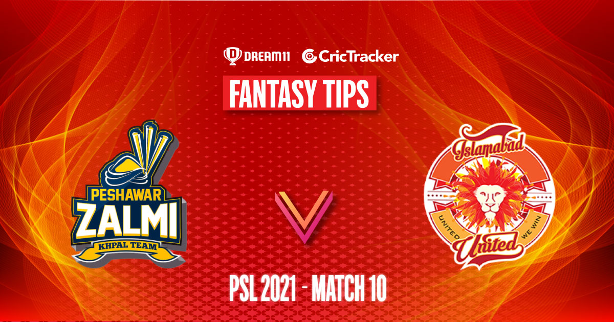 PSL 2021, Match 10: PES vs ISL Dream11 Prediction, Fantasy Cricket Tips, Playing 11, Pitch Report and Injury Update - CricTracker