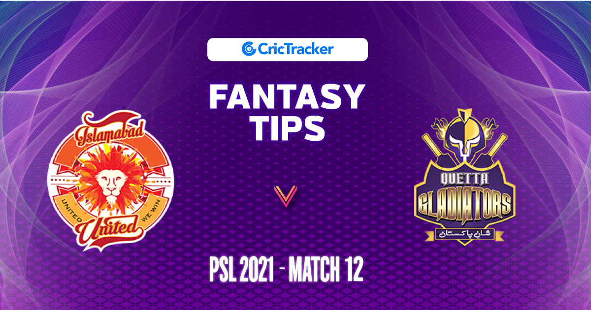 ISL vs QGL Prediction, 11Wickets Fantasy Cricket Tips: Playing XI, Pitch Report & Injury Update – PSL 2021, Match 12 - CricTracker