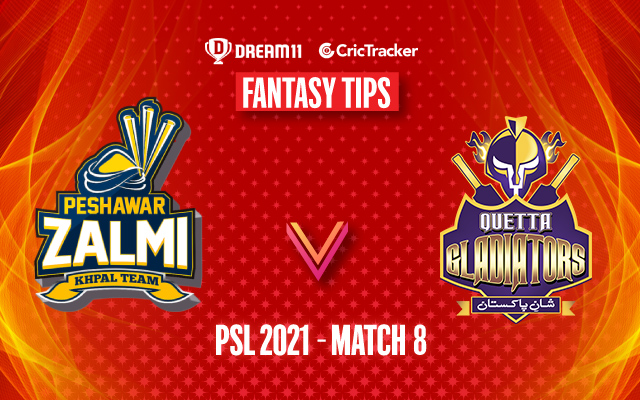 PSL 2021, Match 8: PES vs QUE Dream11 Prediction, Fantasy Cricket Tips, Playing 11, Pitch Report and Injury Update