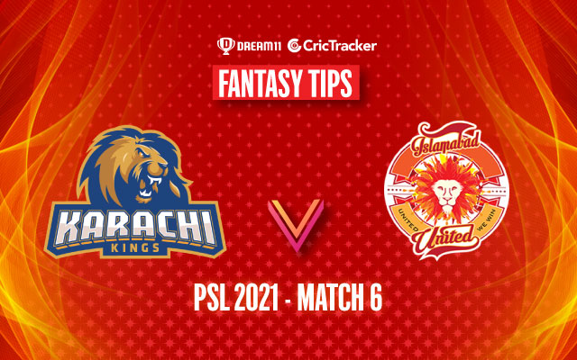 PSL 2021, Match 6: KAR vs ISL Dream11 Prediction, Fantasy Cricket Tips, Playing 11, Pitch Report and Injury Update