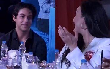 Preity Zinta and Shah Rukh Khan's son Aryan