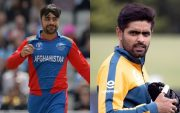 Rashid Khan and Babar Azam