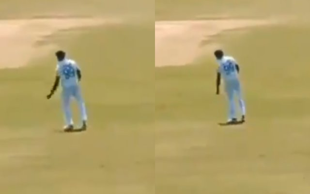 Ravi Ashwin shakes a leg to a song from Vijay-starrer Master in the second Test; crowd goes wild - CricTracker