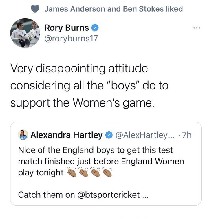 Rory Burns