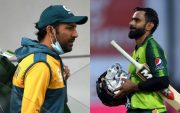 Sarfaraz Ahmed and Mohammad Hafeez