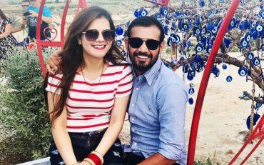 Siddharth Kaul and his wife