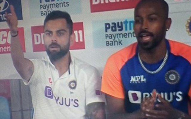 Virar Kohli and Hardik Pandya