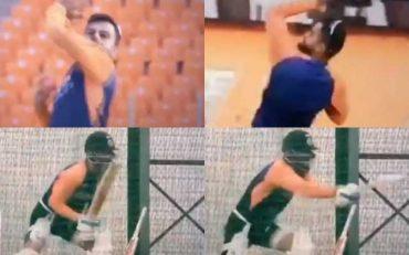 Virat Kohli imitating Jaques Kallis and Steve Smith