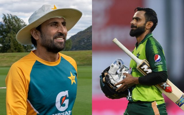 Younis Khan and Mohammad Hafeez
