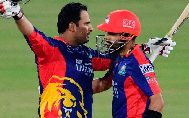 Babar Azam and Sharjeel Khan