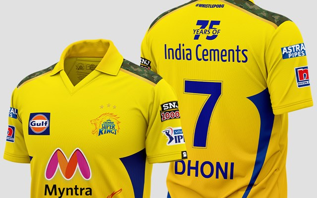 IPL 2021: Why does CSK's new jersey have three stars above the team logo?