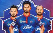 Delhi Capitals' new jersey