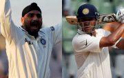 Harbhajan Singh and Rahul Dravid
