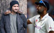 Harbhajan Singh and Ravi Ashwin