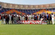 India won the series 3-1