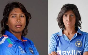 Jhulan Goswami and Aahana Kumra