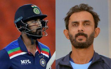 KL Rahul and Vikram Rathour